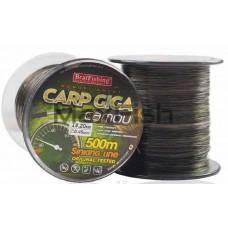 Леска 500м. 0,45 BratFishing Carp Giga Camou