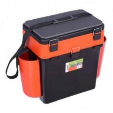 Ящик Helios Тонар 19л  2х ярусный Orange