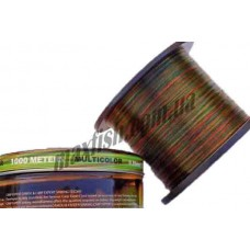 Леска 1000м. 0,30 Carp Expert multicolor