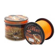 Леска Carp Expert Fluo orange 1000м. 0,25мм.