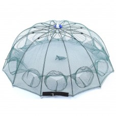 Раколовка зонт автомат  6 входов