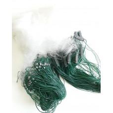 Рыбацкая сеть 1,8м*50м Дробинка груз