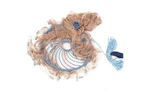 Кастинговая сеть Кольцо Фрисби, Капроновая нить