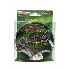 Плетеный шнур Skeleton green 100м. 0,06 мм.
