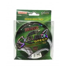 Плетеный шнур Skeleton green 100м. 0,21 мм.