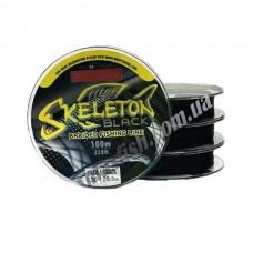 Плетеный шнур Skeleton black 100м. 0,06 мм.