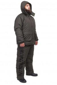 """Зимний костюм для рыбалки и охоты """"Таслан"""" зеленый"""