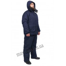 Зимний костюм для рыбалки и охоты Таслан синий