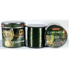 Леска 300м. 0,27 BratFishing Carp Mega Dark Green
